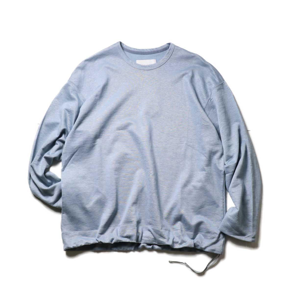 CURLY / CLOUDY CREW SWEAT (Steel Blue)