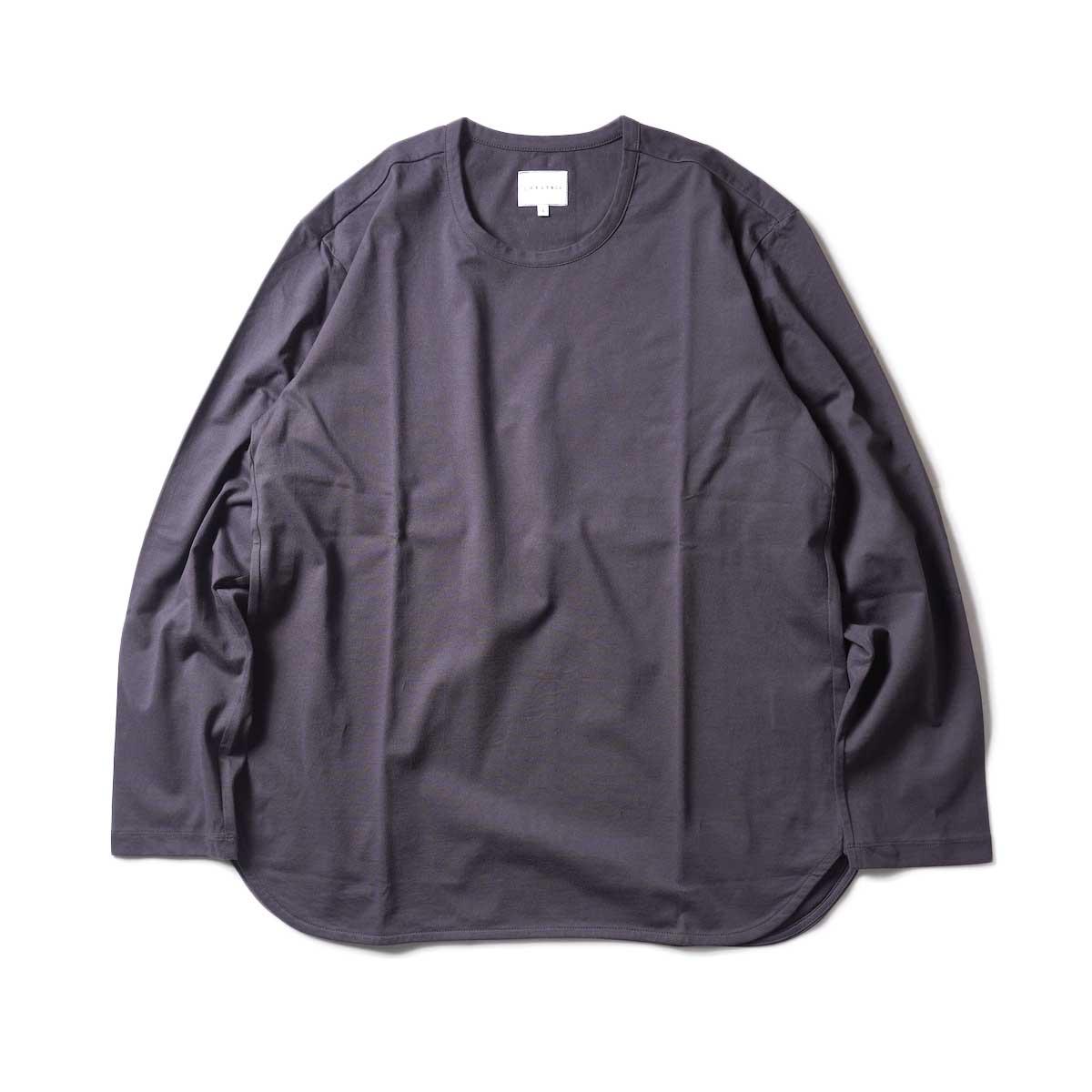 CURLY / ELS L/S CN TEE (Charcoal)