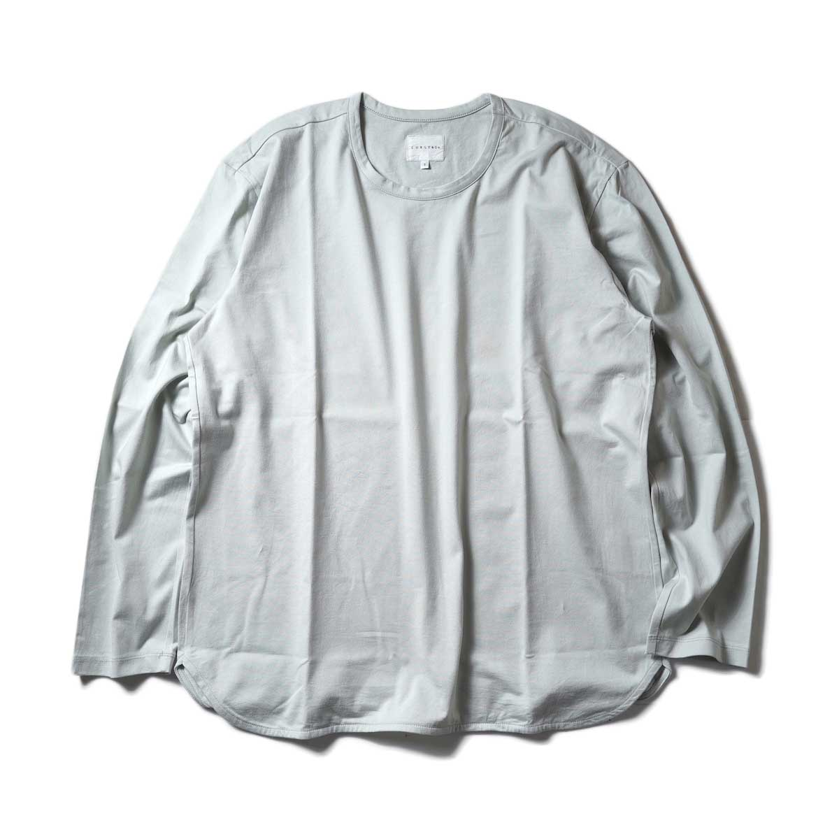 CURLY / ELS L/S CN TEE (Sage Green)正面