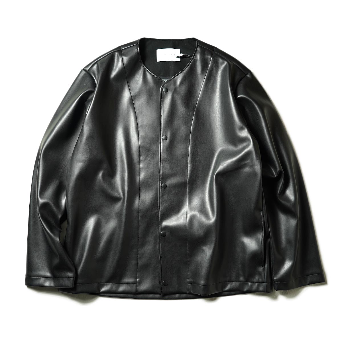 """CURLY / REGENCY NC JACKET """"Synthetic leather"""" (Black)"""