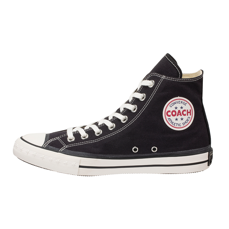 CONVERSE ADDICT / COACH CANVAS HI (Black)