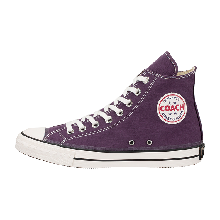 CONVERSE ADDICT / COACH CANVAS HI (Purple)