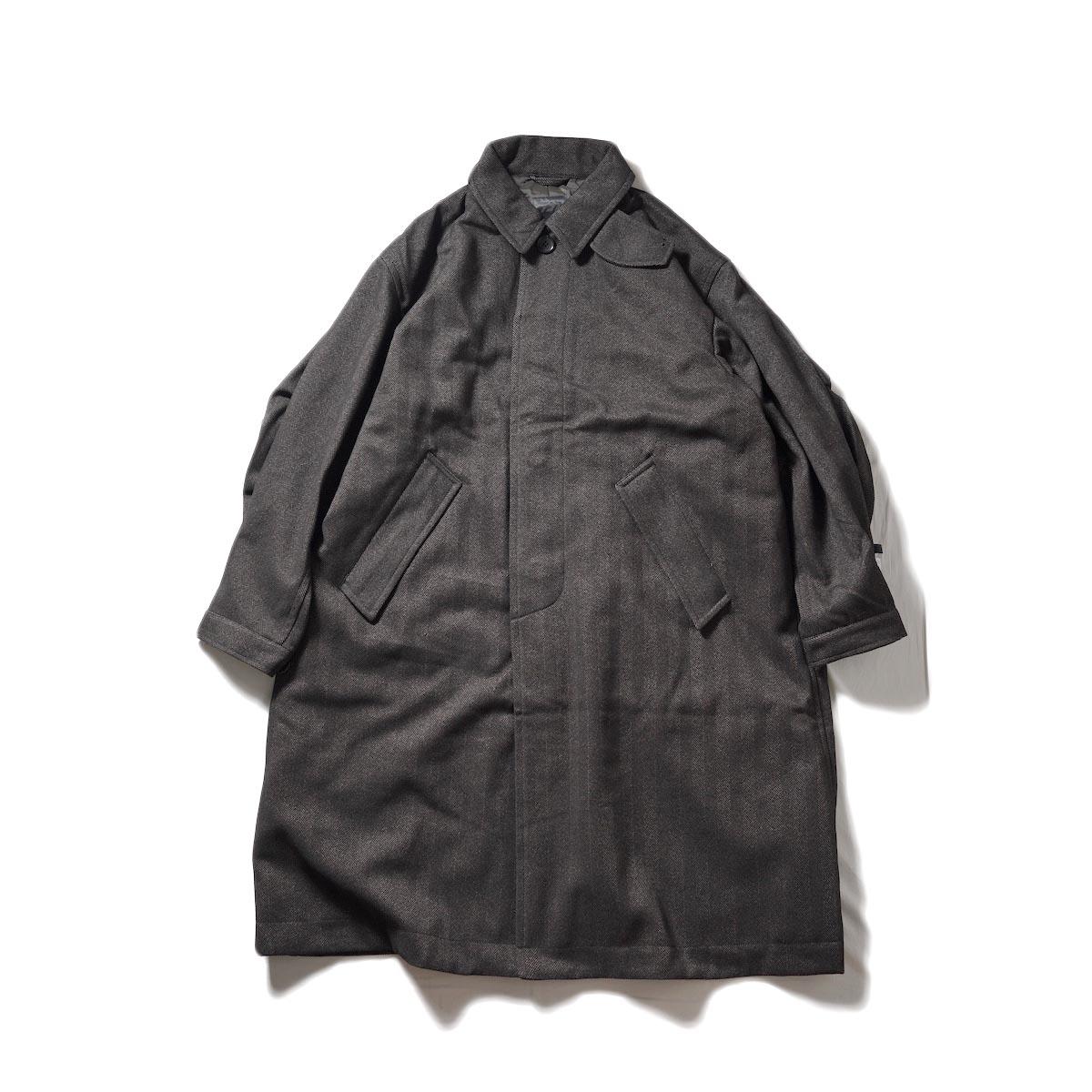 DAIWA PIER39 / GORE-TEX INFINIUM TECH TWEEDSOUTIEN COLLAR COAT (Brown)