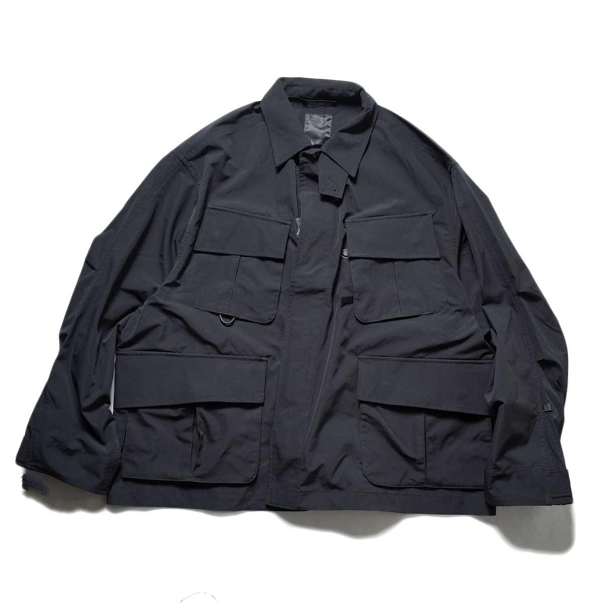 DAIWA PIER39 / Tech Jungle Fatigue Jacket (Black)
