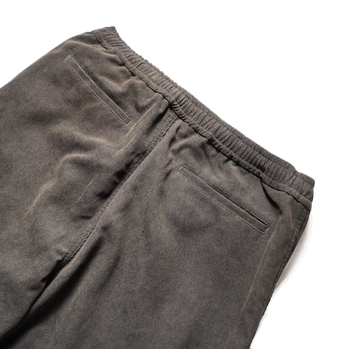 DAIWA PIER39 / TECH CORDUROY EASY TROUSERS (Brown)ヒップポケット
