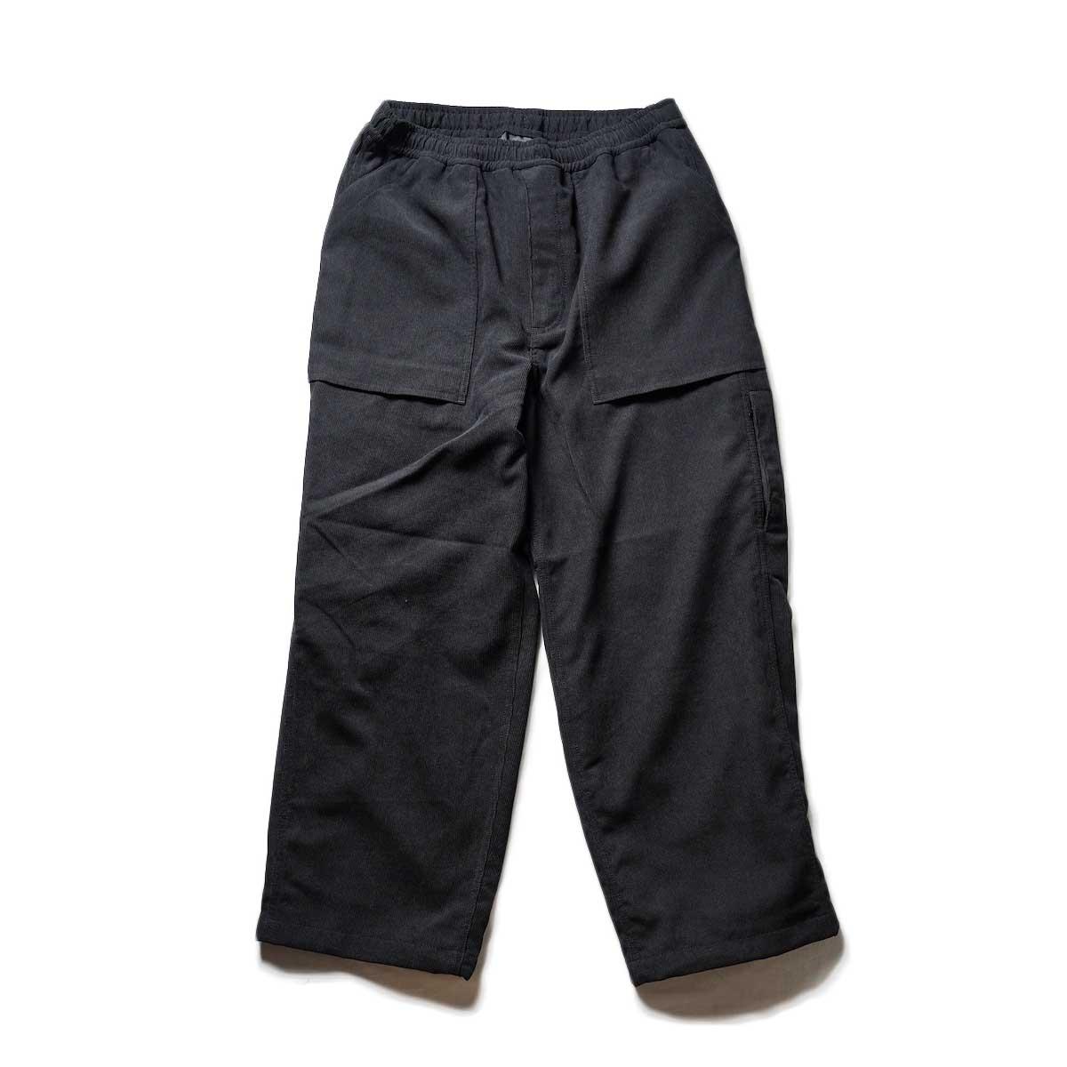 DAIWA PIER39 / TECH SPY FATIGUE PANTS (CORDUROY) (Black)