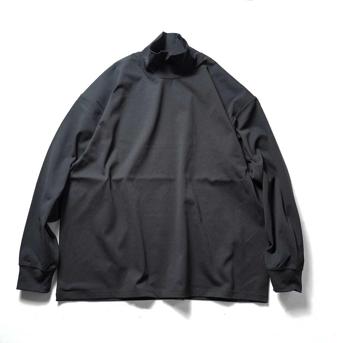 DAIWA PIER39 / TECH MOCK NECK TEE L/S (Black)