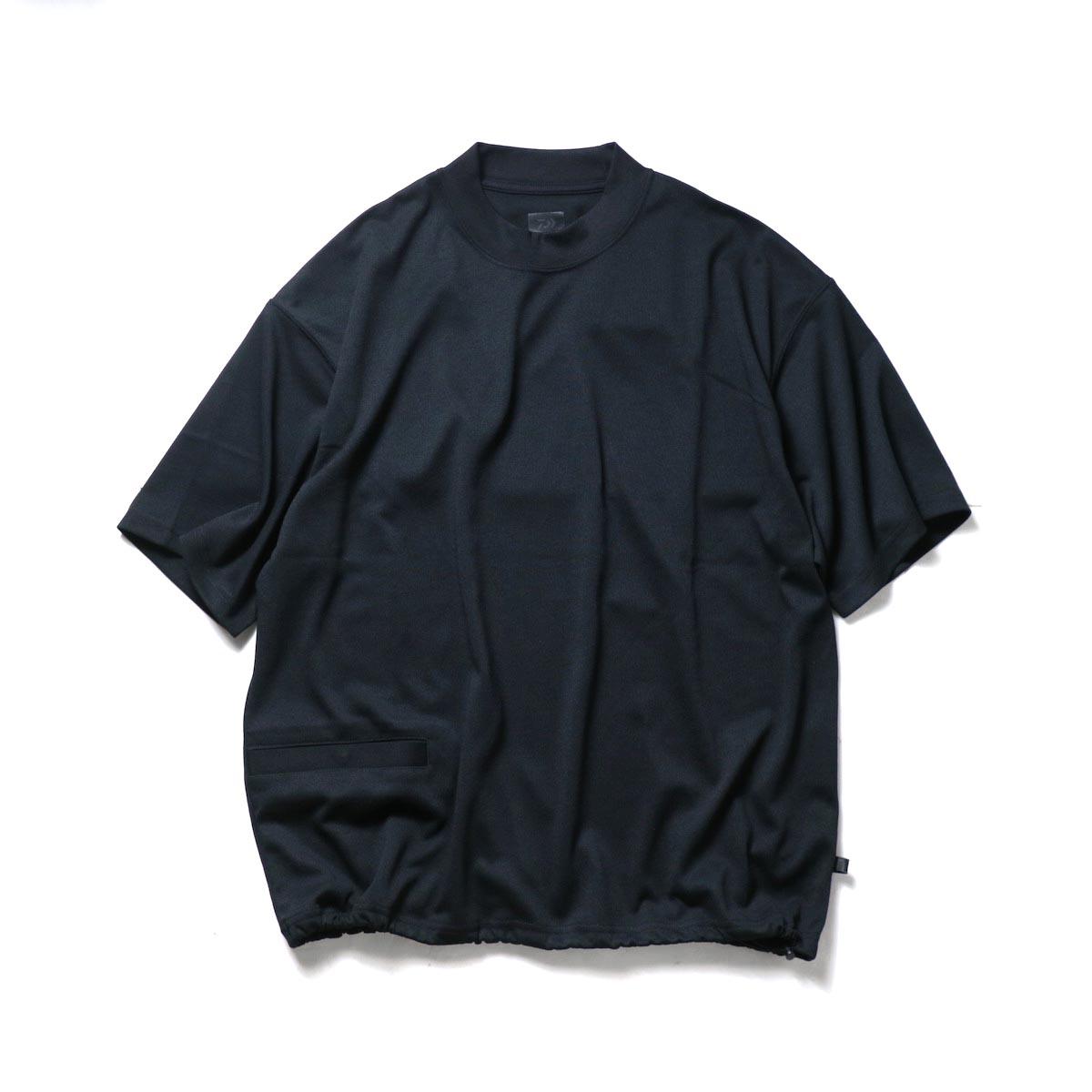 DAIWA PIER39 / Tech 1P Hi-Crew NeckT-Shirts (Black)