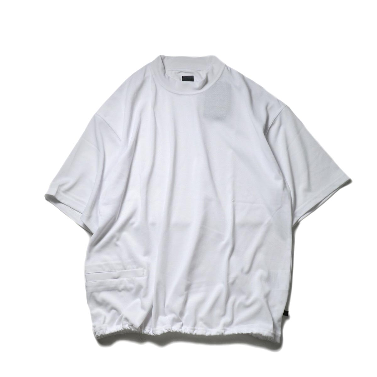 DAIWA PIER39 / Tech 1P Hi-Crew NeckT-Shirts (White)