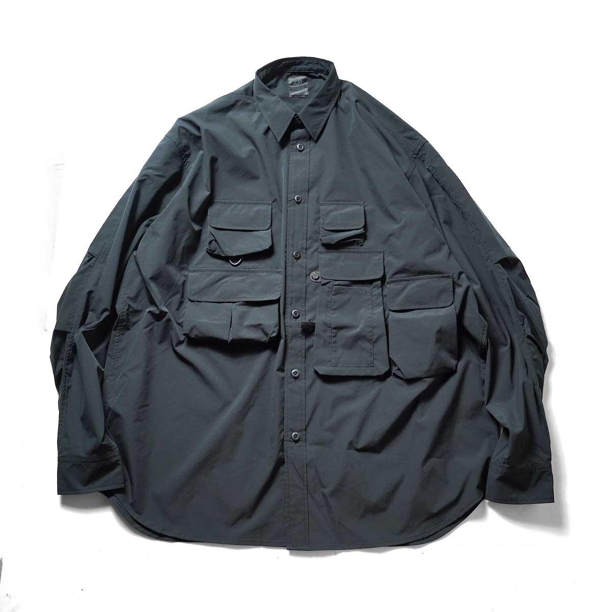DAIWA PIER39 / Tech Angler's Shirt L/S (Black)