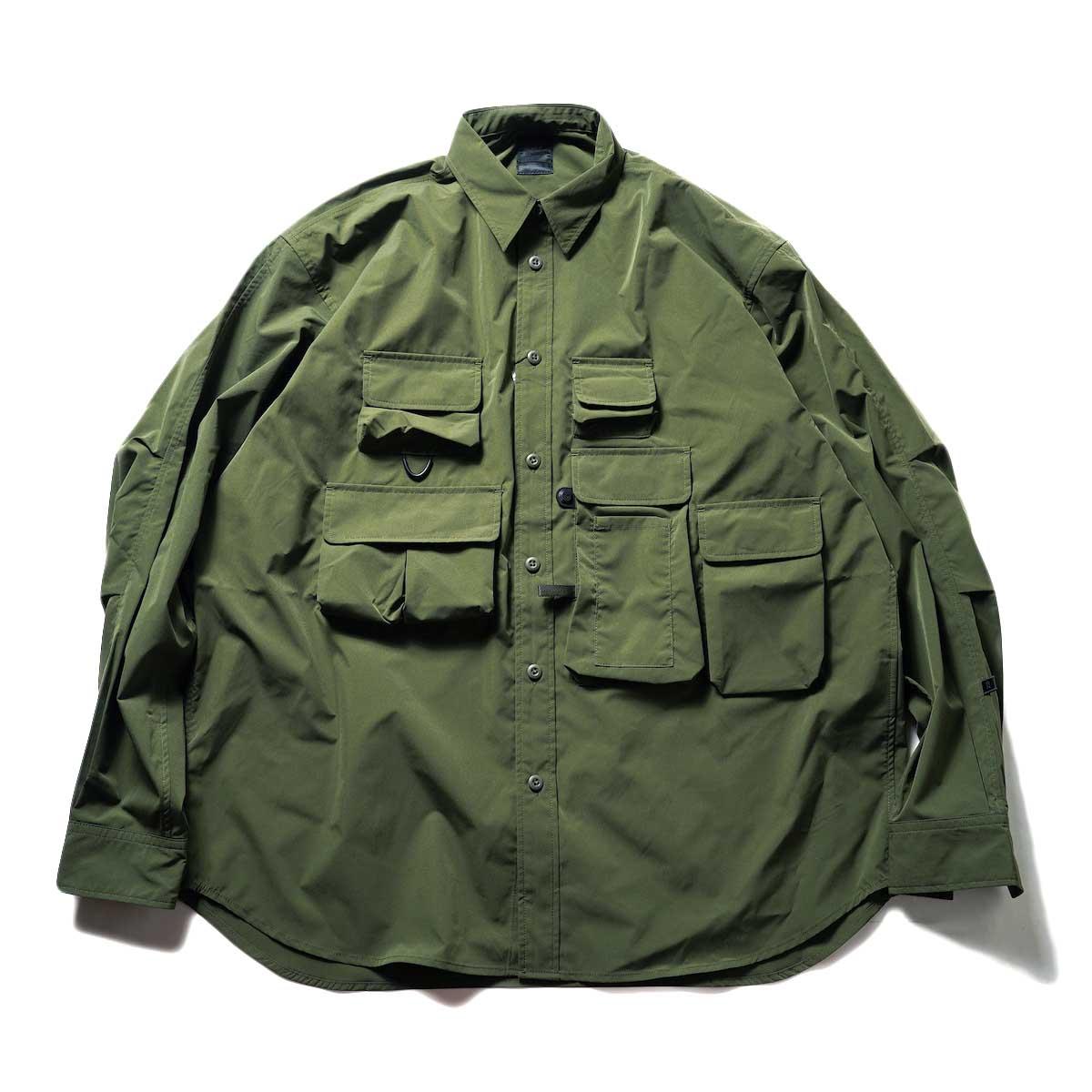 DAIWA PIER39 / Tech Angler's Shirt L/S (Olive)