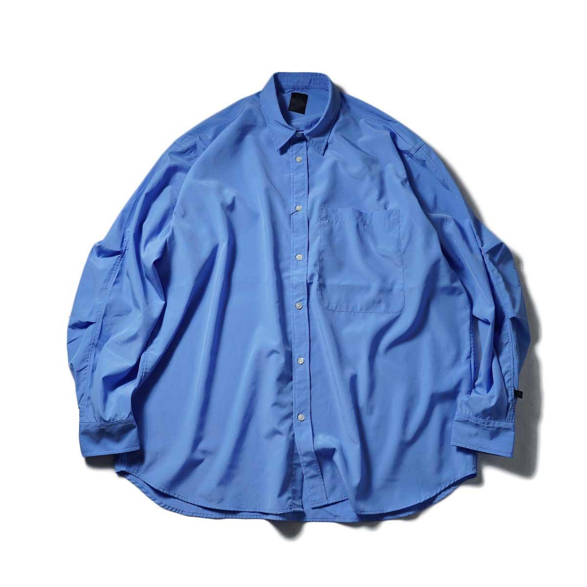 DAIWA PIER39 / Tech Regullar Collar Shirt (Blue)