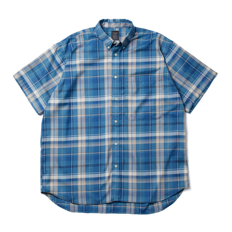 DAIWA PIER39 / Tech BD Flannel Plaids S/S (Blue)