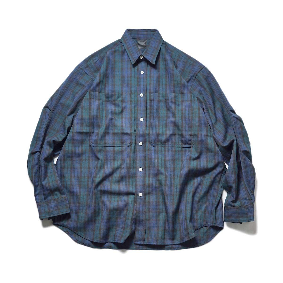 DAIWA PIER39 / TECH FLANNEL WORKER'S SHIRTS (Black Watch)