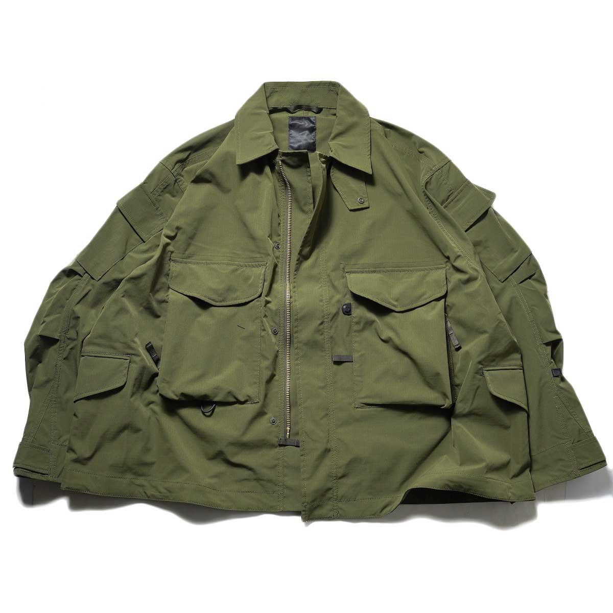 DAIWA PIER39 / Tech Mil BDU Jacket (Rip-Stop) (Olive)