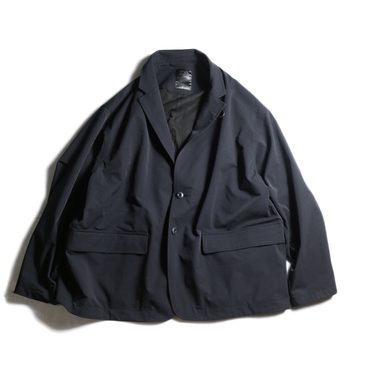 DAIWA PIER39 / Loose Stretch 2B Jacket (Black)