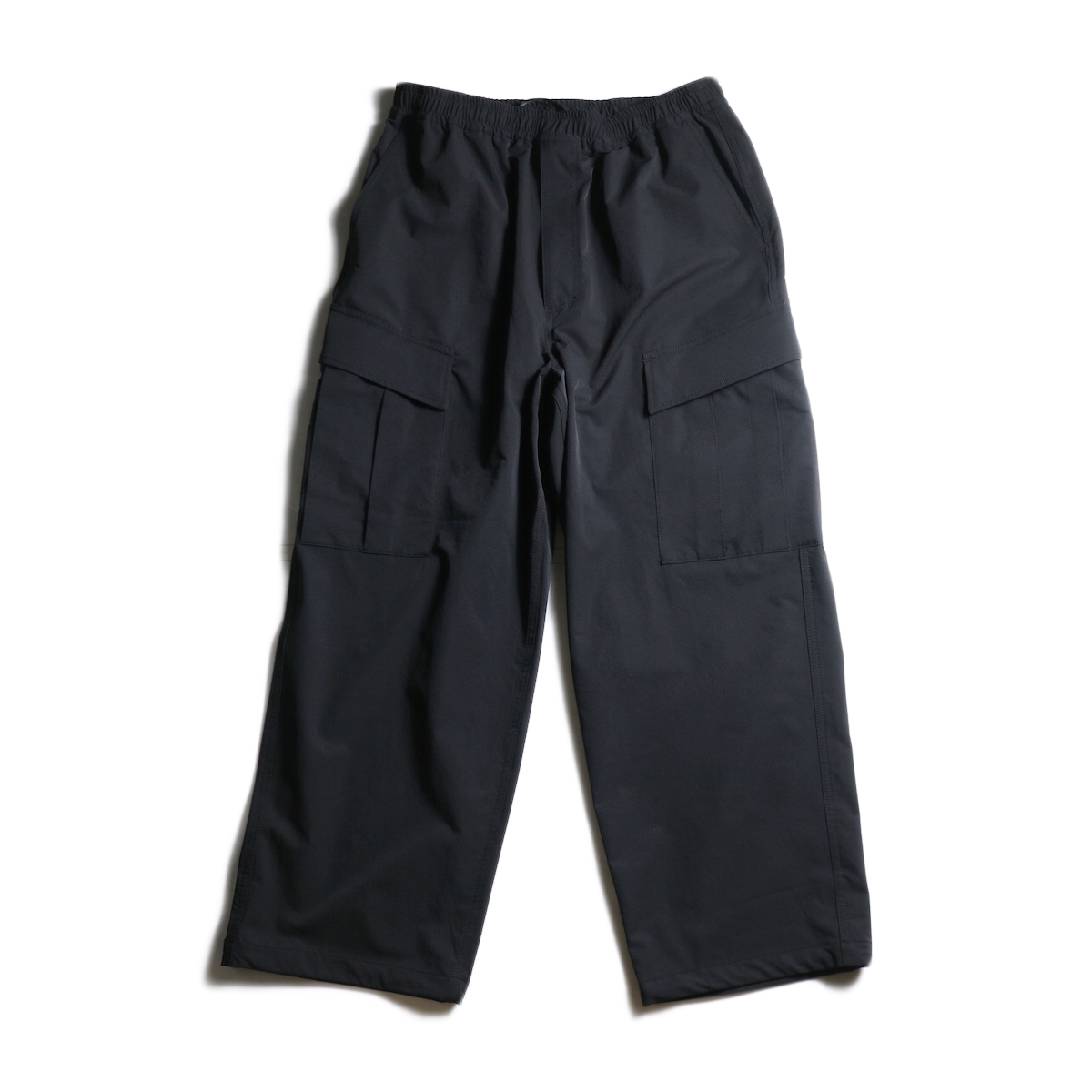 DAIWA PIER39 / Loose Stretch 6P Mil Pants (Black)