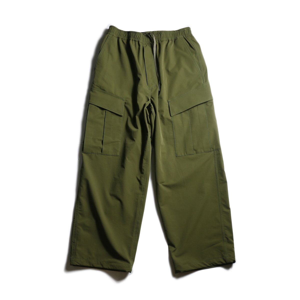 DAIWA PIER39 / Loose Stretch 6P Mil Pants (Dark Olive)