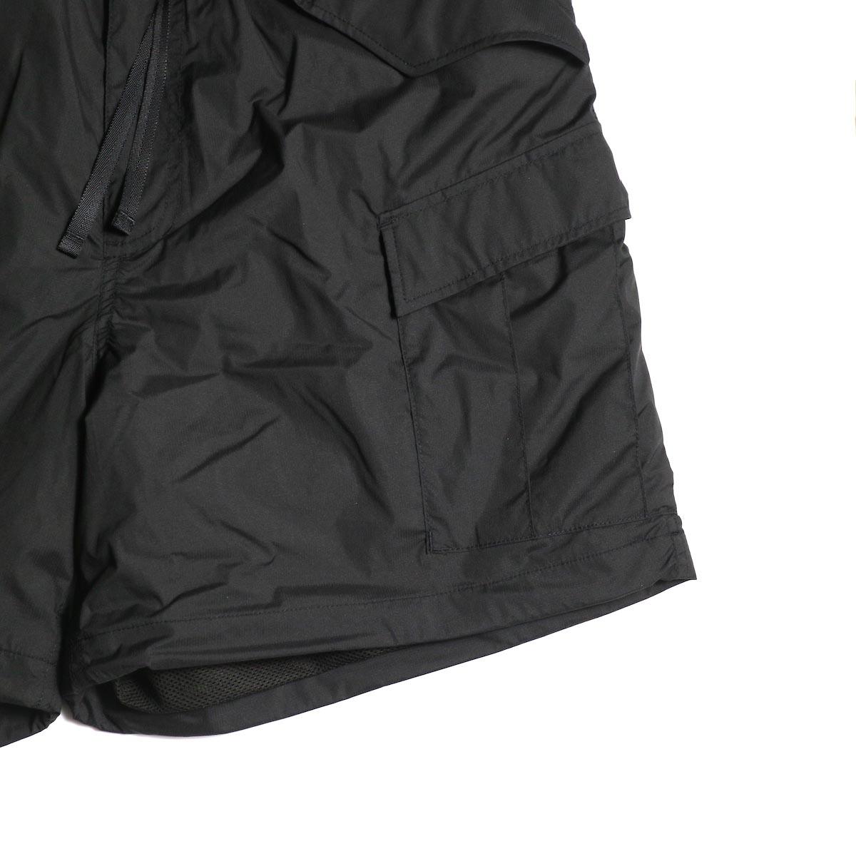DAIWA PIER39 / Micro Rip-Stop Easy 6P Shorts (Black)ポケット