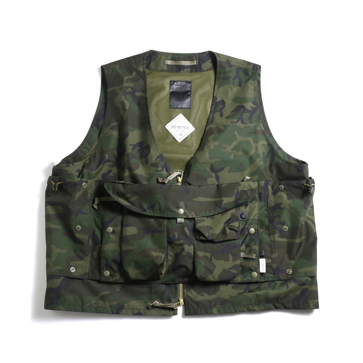 DAIWA PIER39 / GORE-TEX INFINIUM 3way Radio Vest (Green Camo)