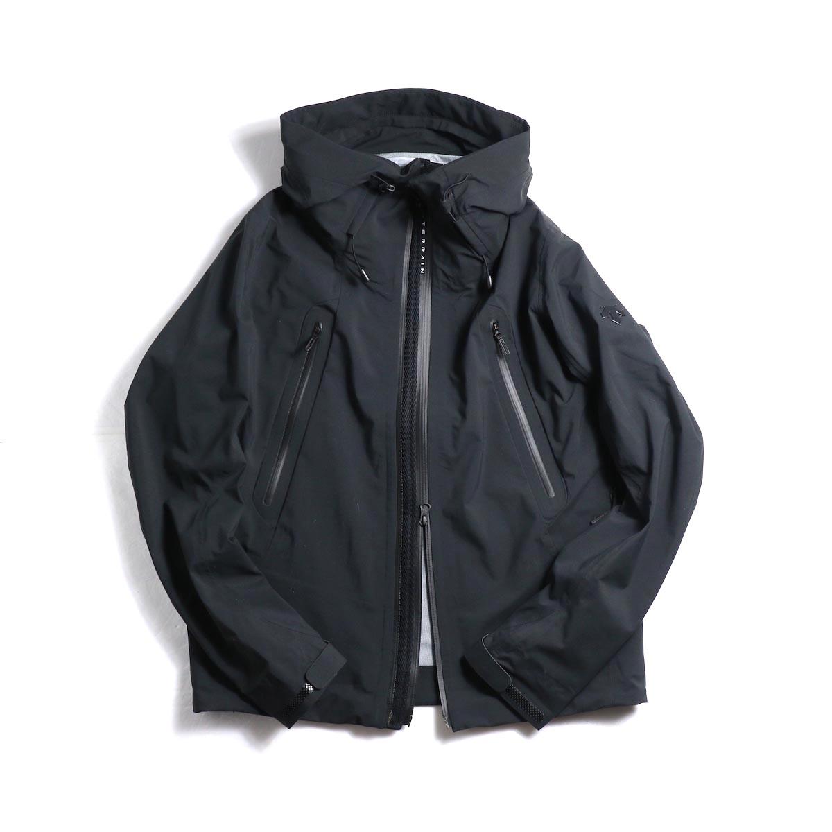 "DESCENTE ALLTERAIN / Hard Shell Jacket ""CREAS"""
