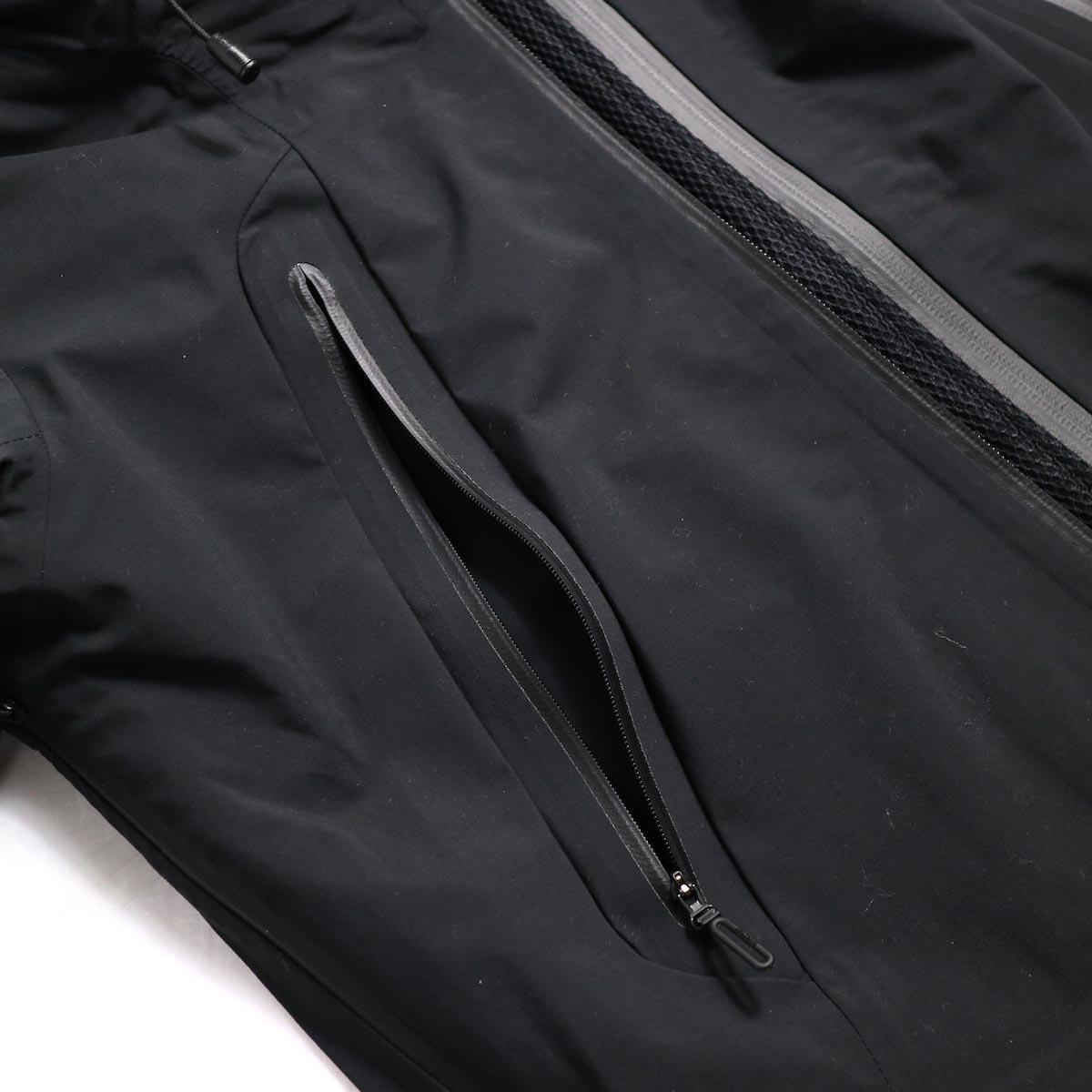 """DESCENTE ALLTERAIN / Hard Shell Jacket """"CREAS"""" 防水ファスナー"""