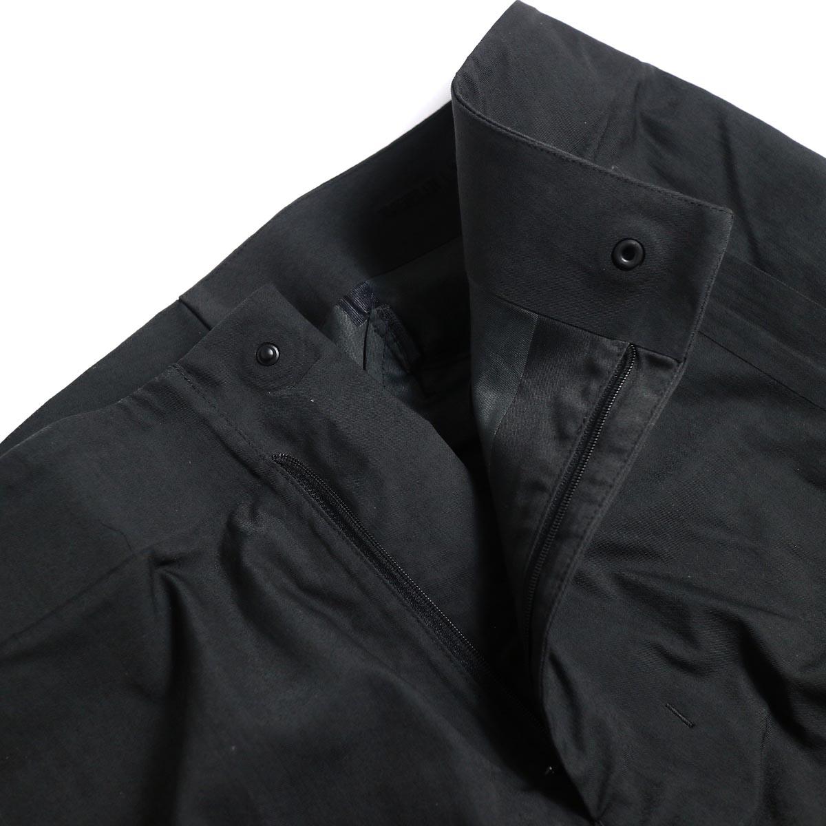 DESCENTE ALLTERAIN / Boa Long Pants Tapered Fit -Black ファスナー