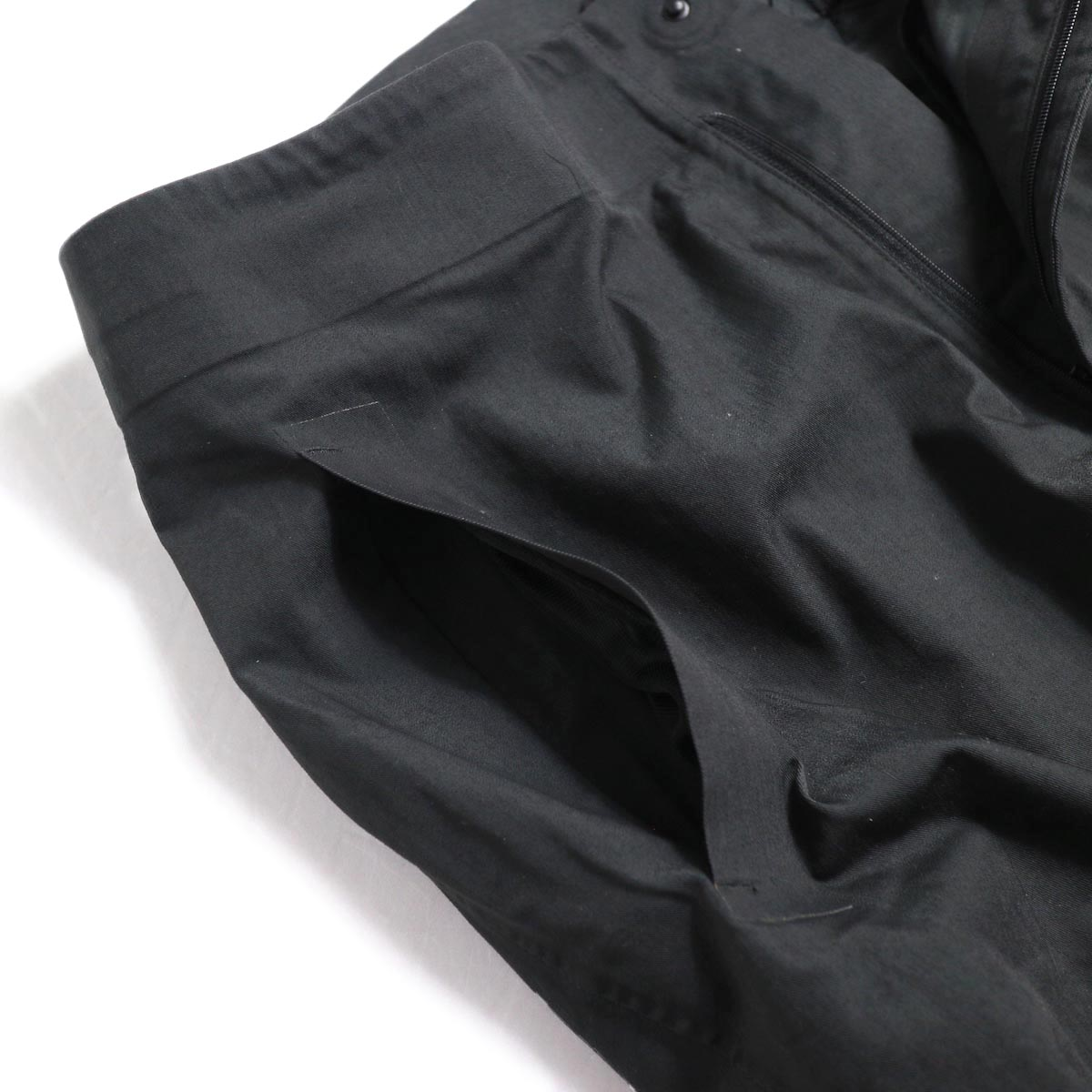 DESCENTE ALLTERAIN / Boa Long Pants Tapered Fit -Black ポケット