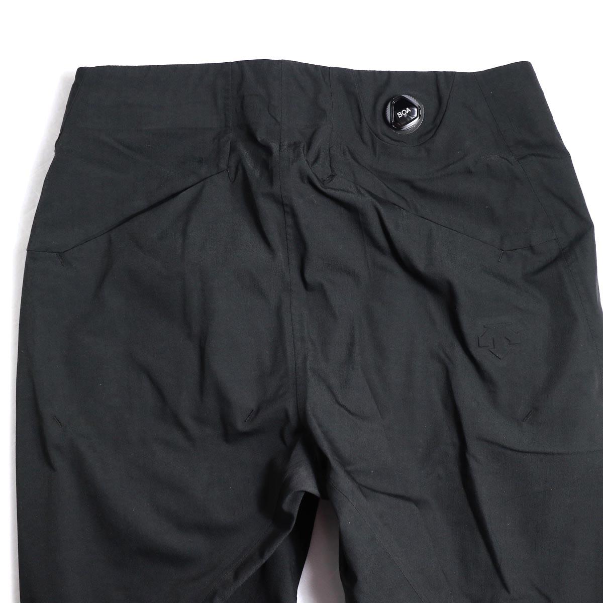 DESCENTE ALLTERAIN / Boa Long Pants Tapered Fit -Black 背面ウエスト