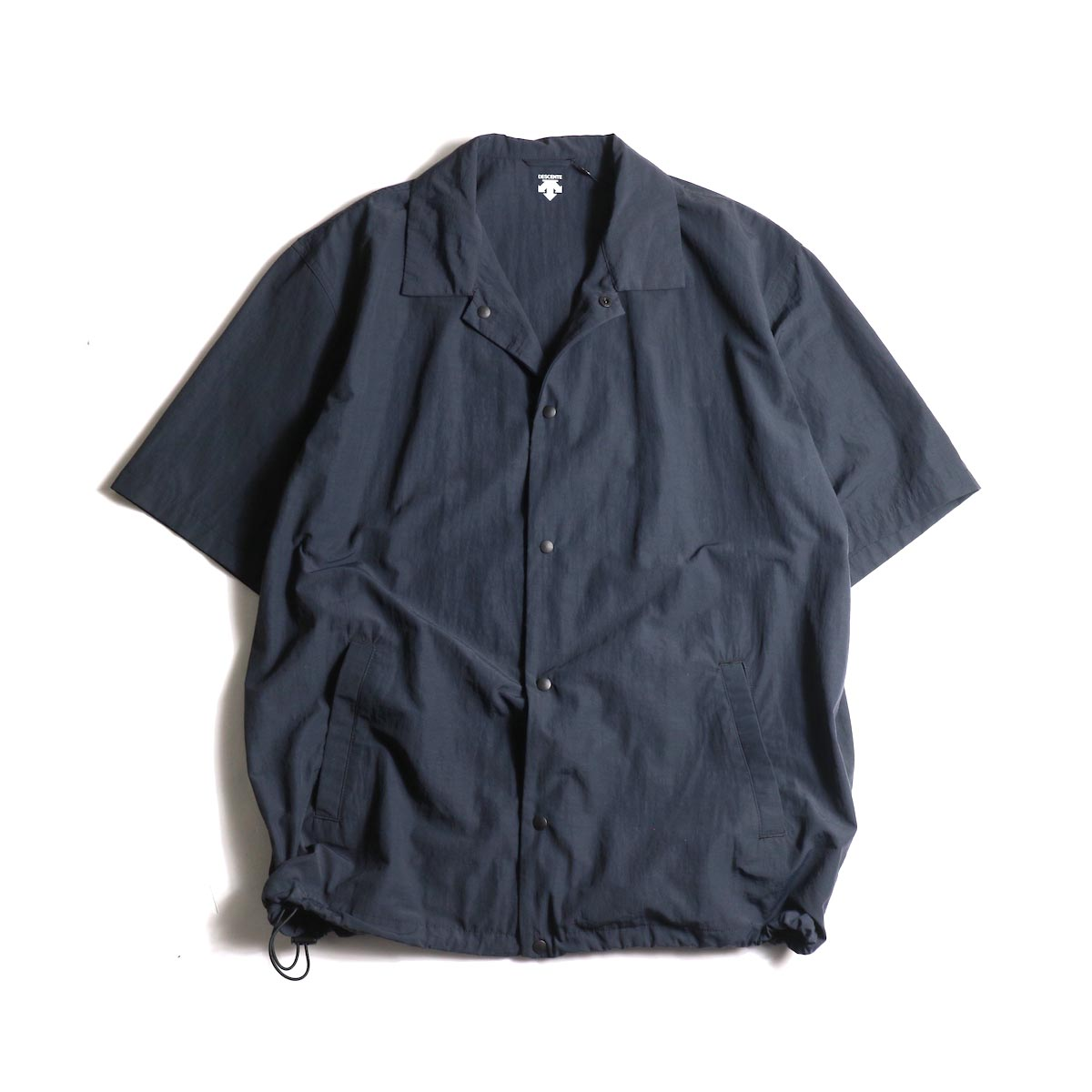 DESCENTE ddd / COACH SHIRT (Black)正面
