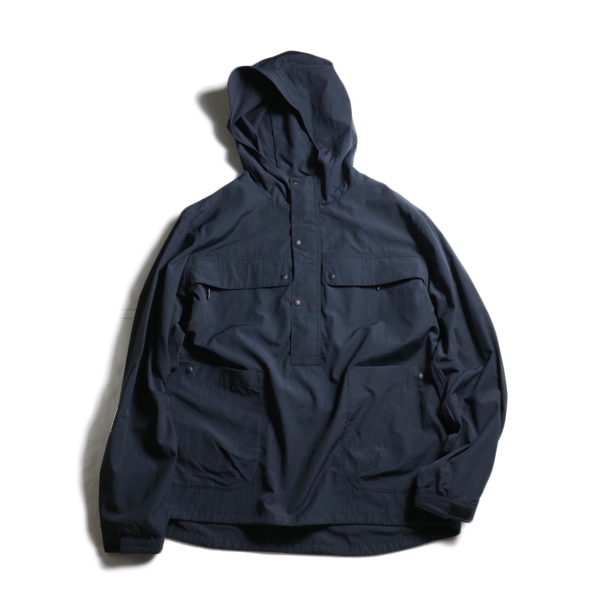 DESCENTE ddd /  PULLOVER JACKET (Black)