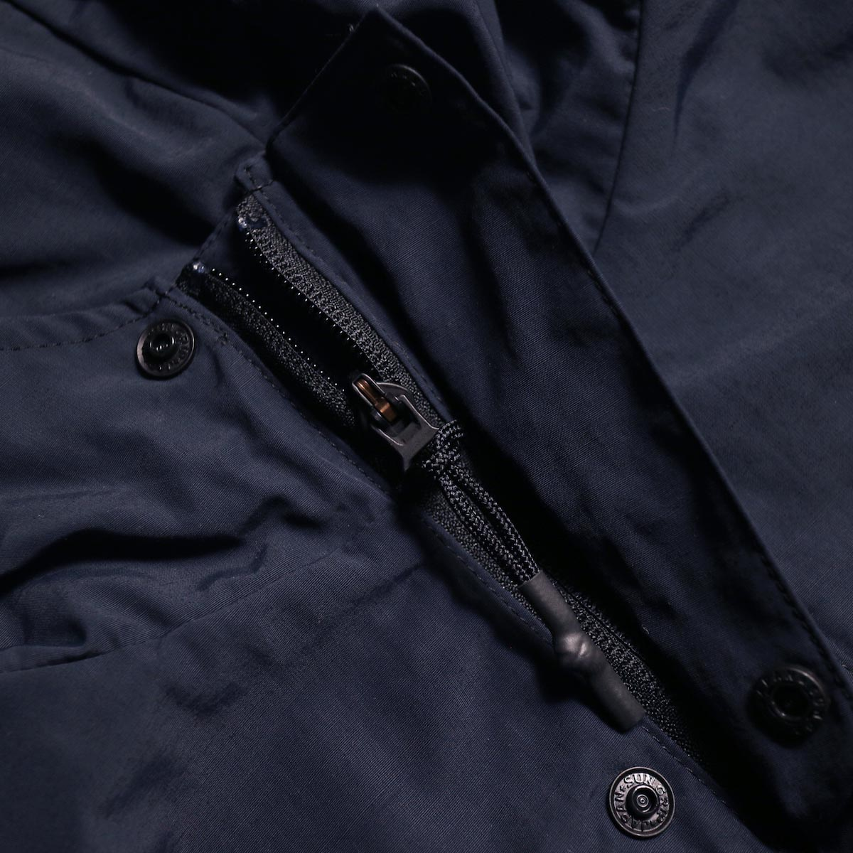 DESCENTE ddd /  PULLOVER JACKET (Black)ジップ