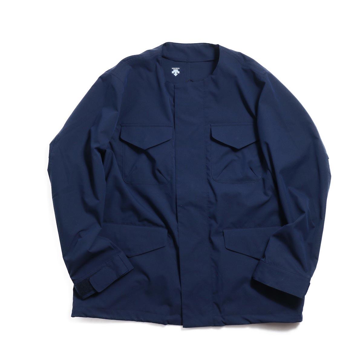 DESCENTE ddd / Utility Jacket -Navy 正面