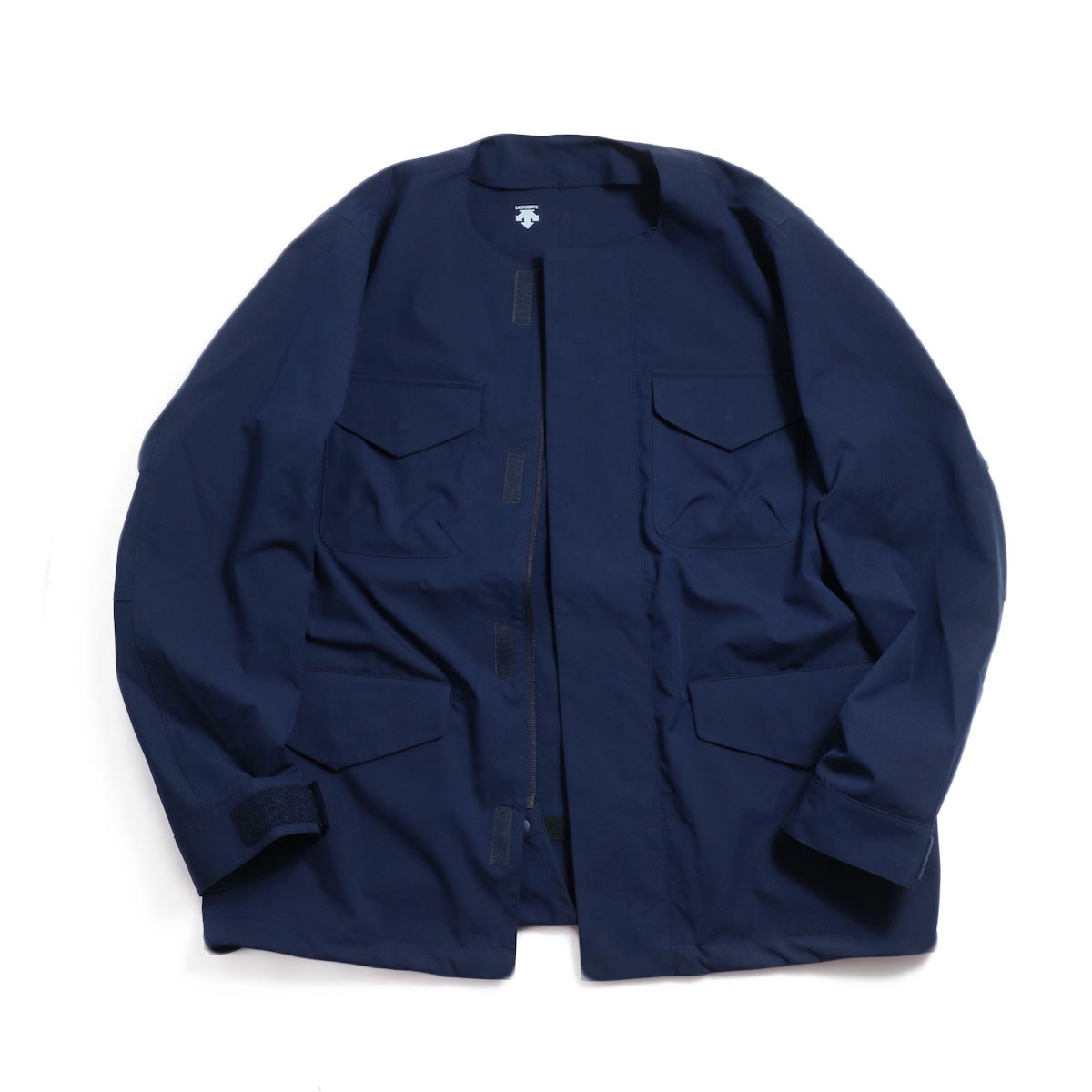 DESCENTE ddd / Utility Jacket -Navy 正面2