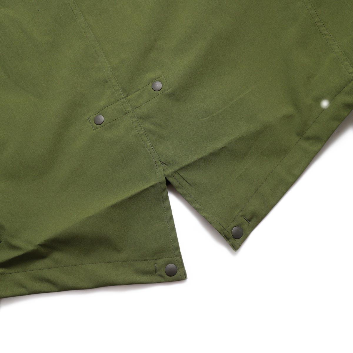DESCENTE ddd / Utility Jacket -OLIVE フィッシュテイル