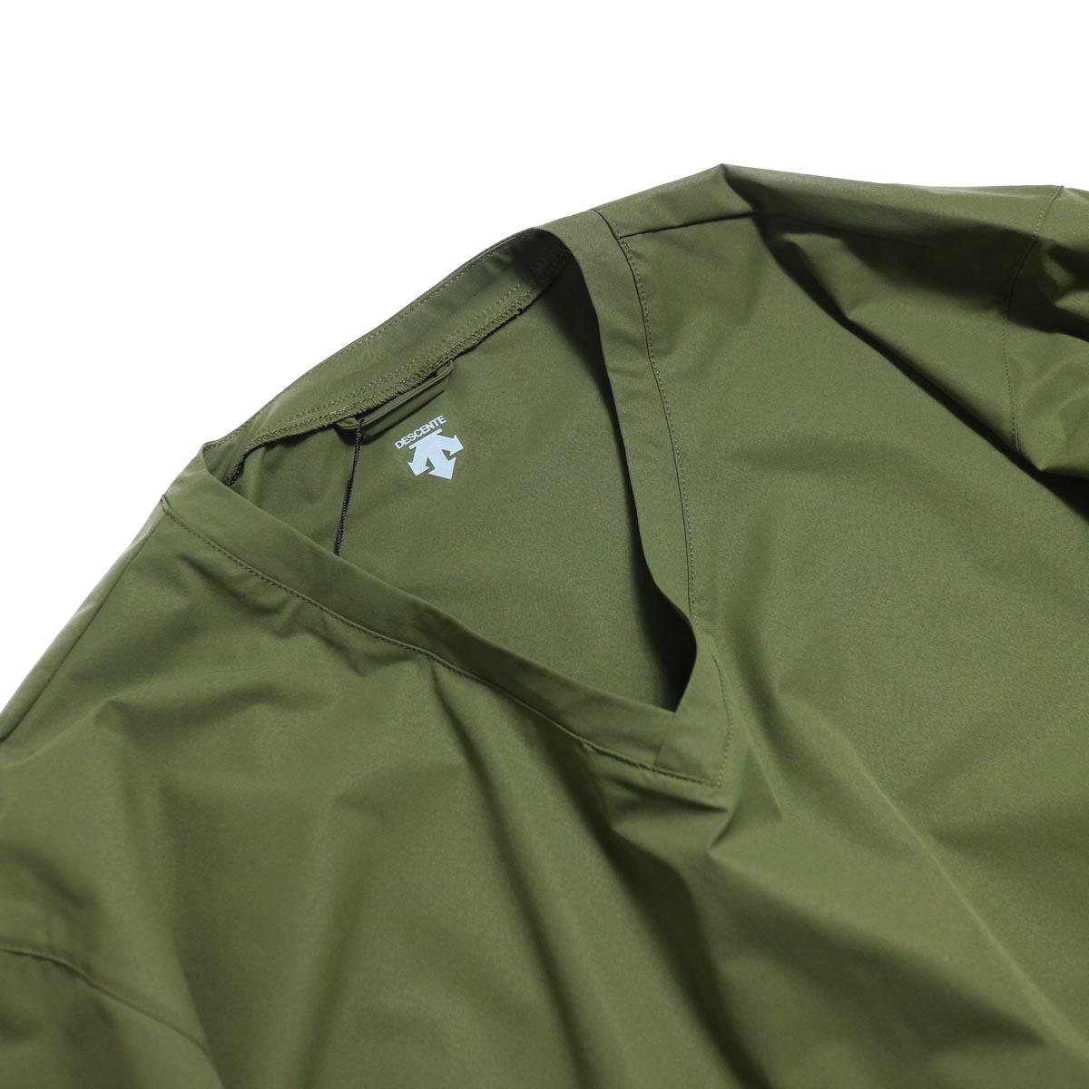 DESCENTE ddd / L/S Pullover Shirt -OGRN  Vネック