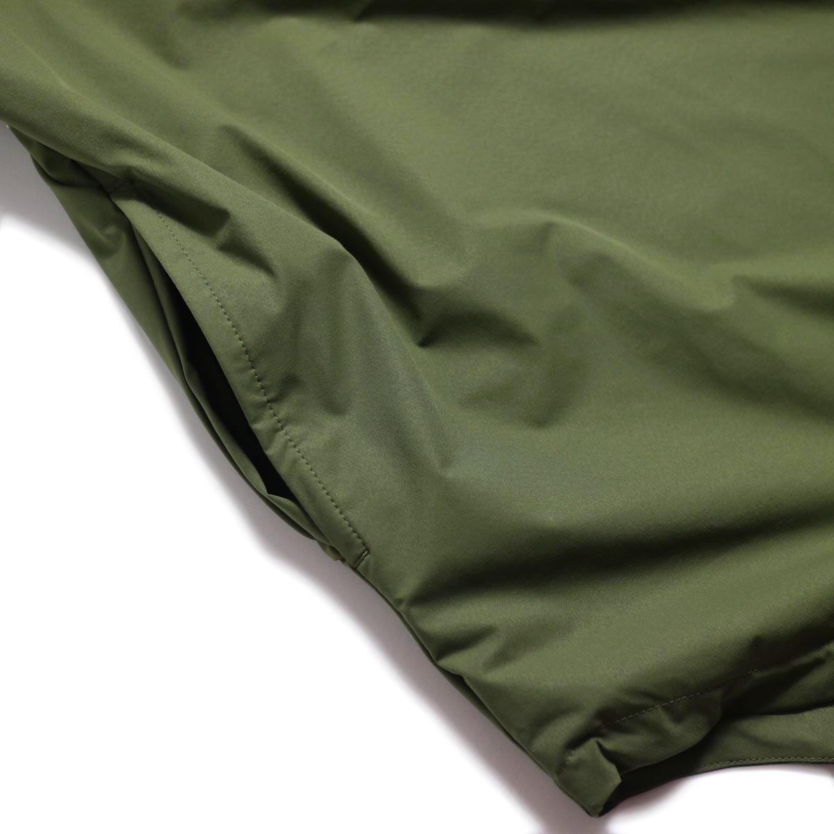 DESCENTE ddd / L/S Pullover Shirt -OGRN  ポケット