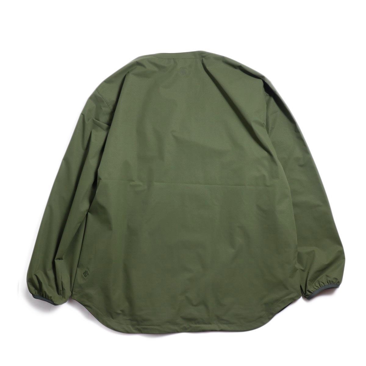 DESCENTE ddd / L/S Pullover Shirt -OGRN 背面