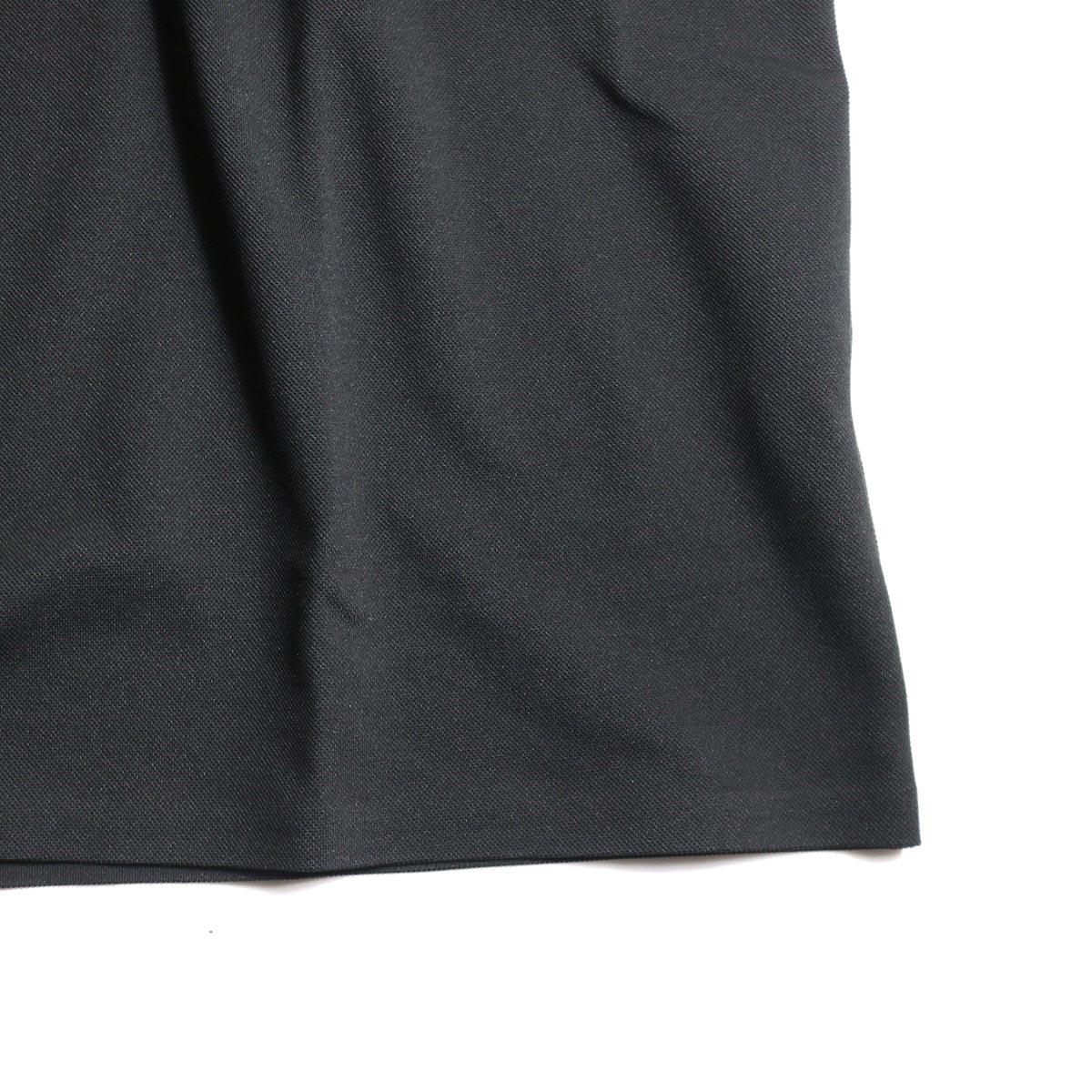 DESCENTE PAUSE / POLO SHIRT (Black)裾