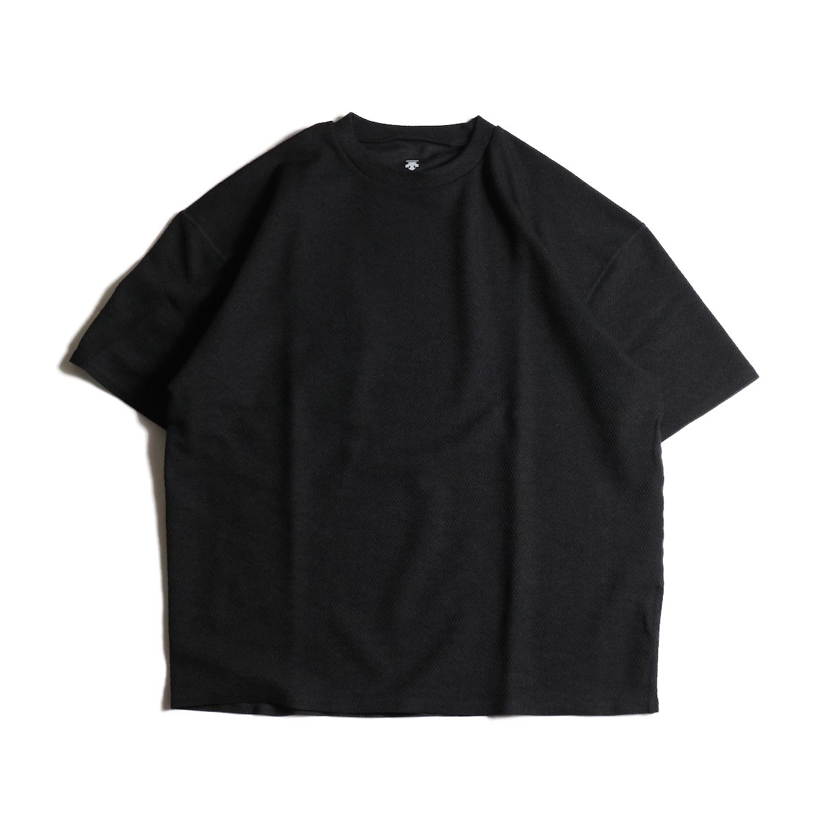 (Ladie's) DESCENTE PAUSE / THERMAL H/S T-SHIRT (BLACK)