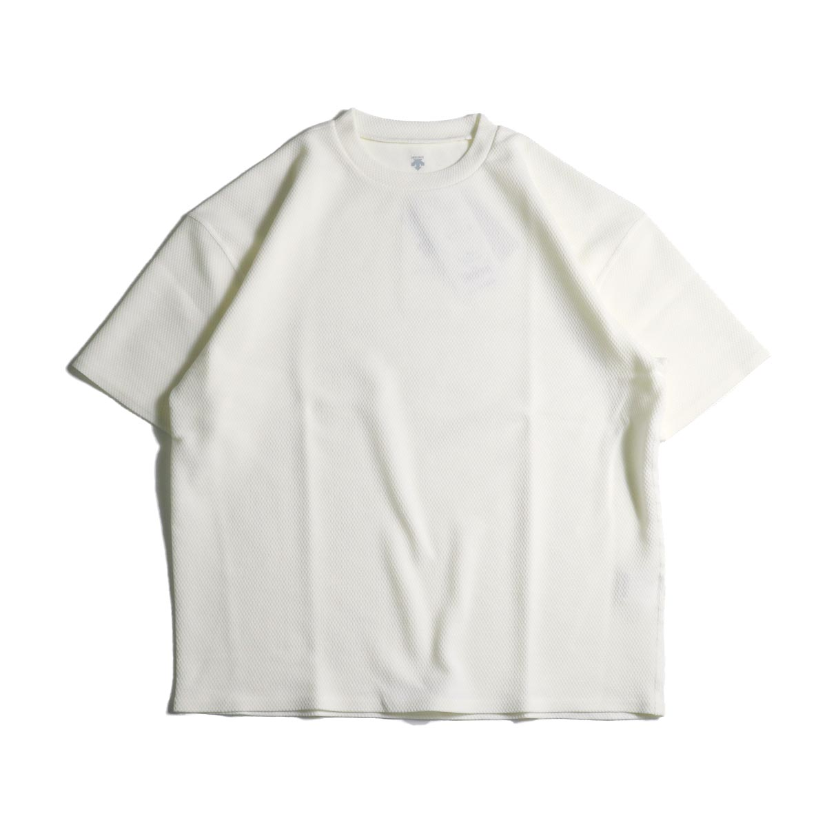 (Ladie's) DESCENTE PAUSE / THERMAL H/S T-SHIRT (White)