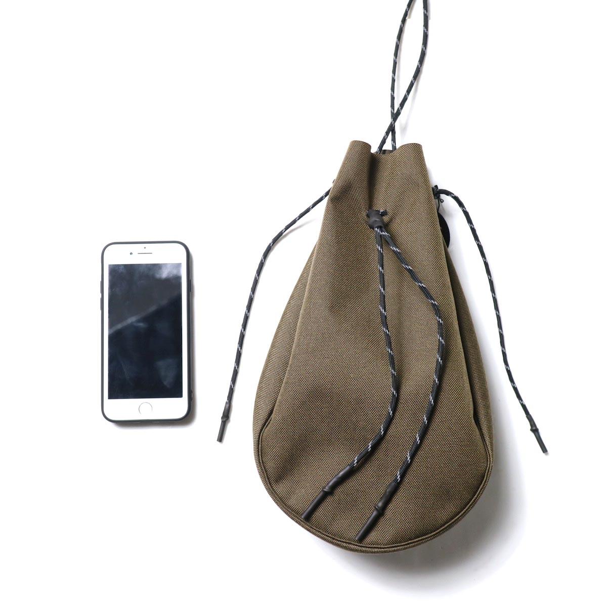 吉岡衣料店 / drawstring bag -L-. サイズ感