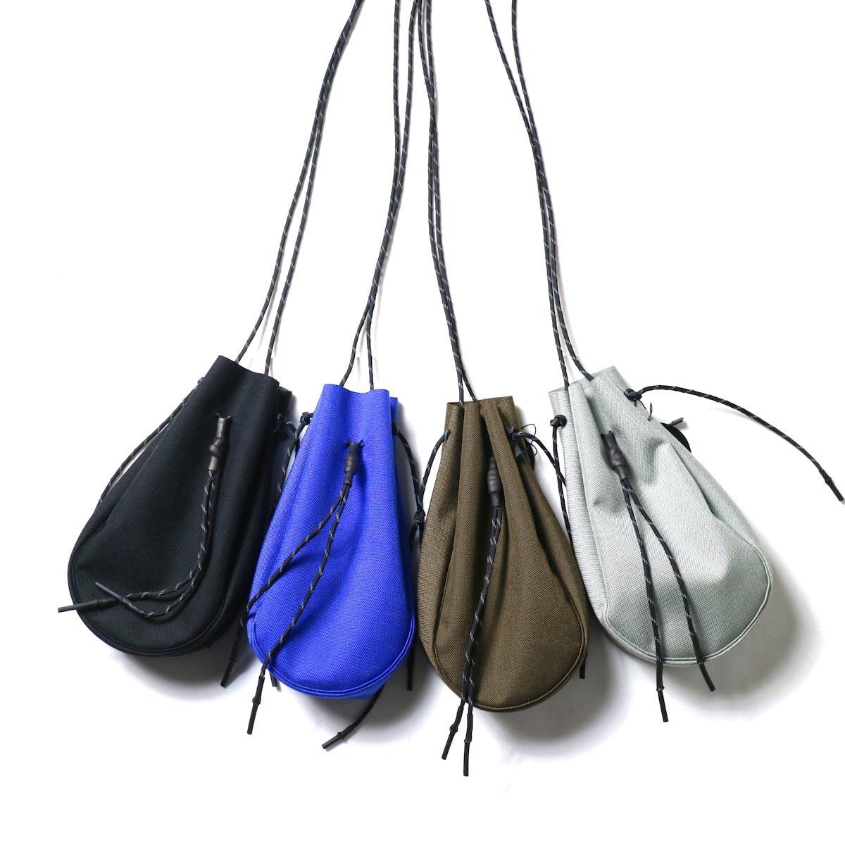 吉岡衣料店 / drawstring bag -S-. 4色