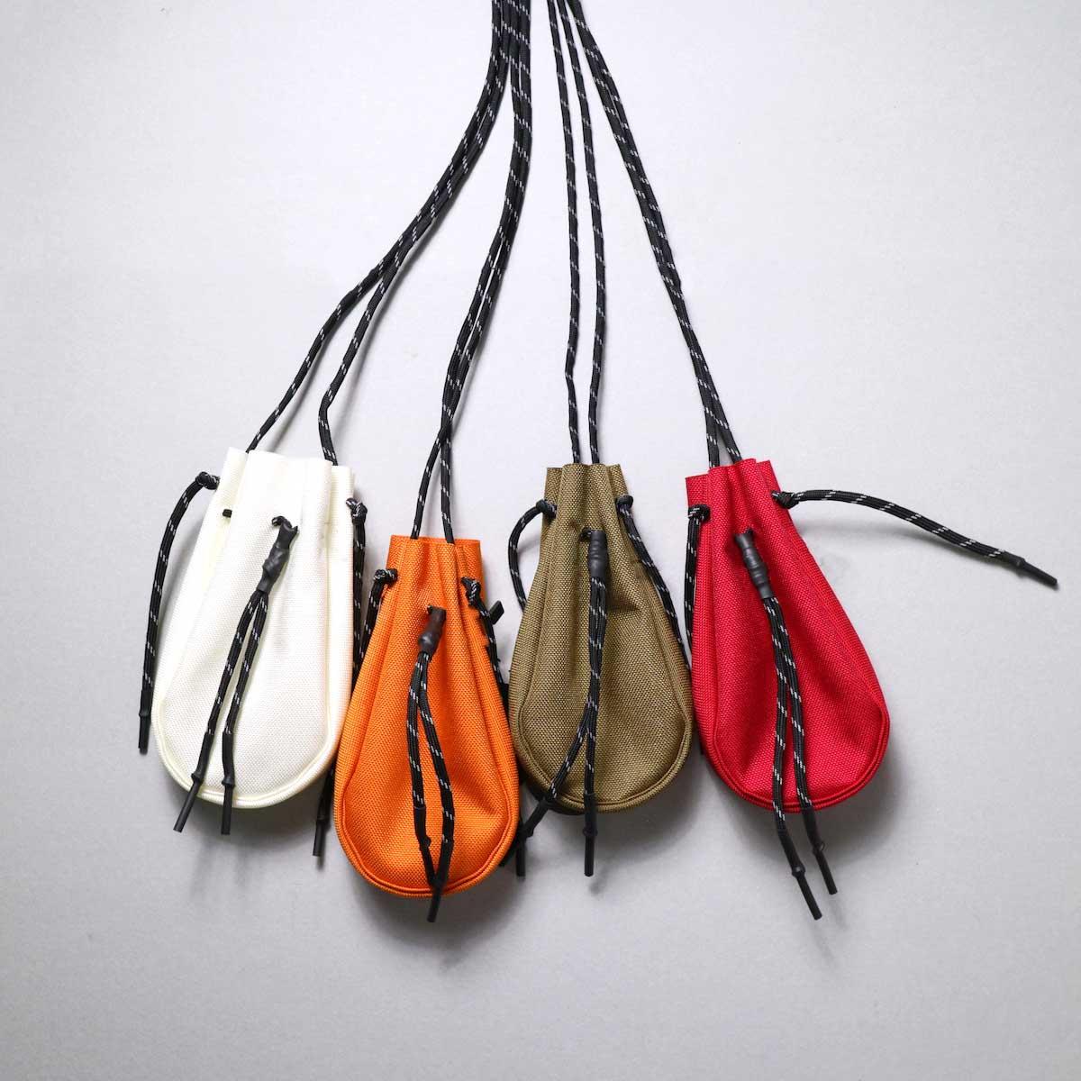 吉岡衣料店 / drawstring bag -XS-.