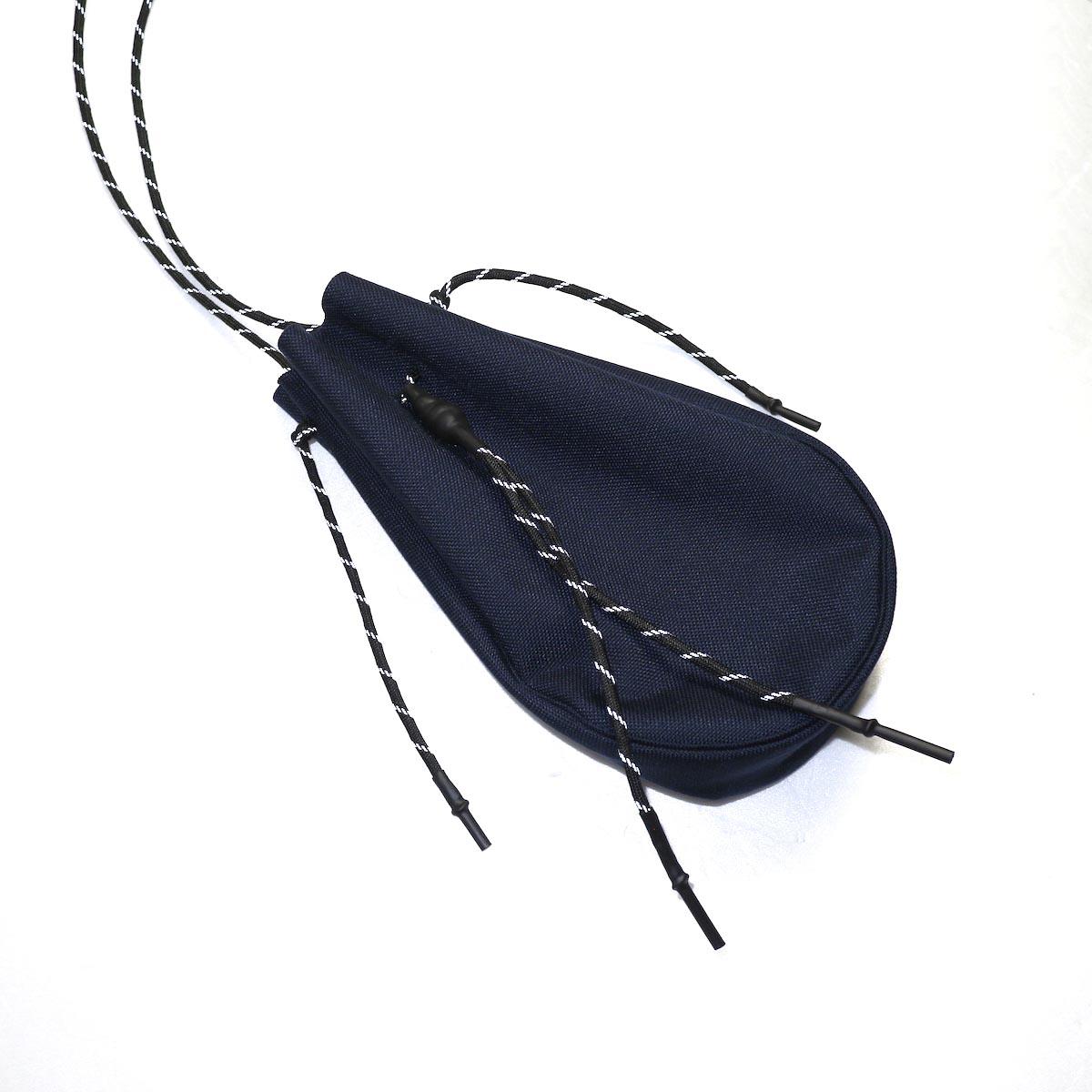 吉岡衣料店 / drawstring bag -S-. イメージ (dark navy)