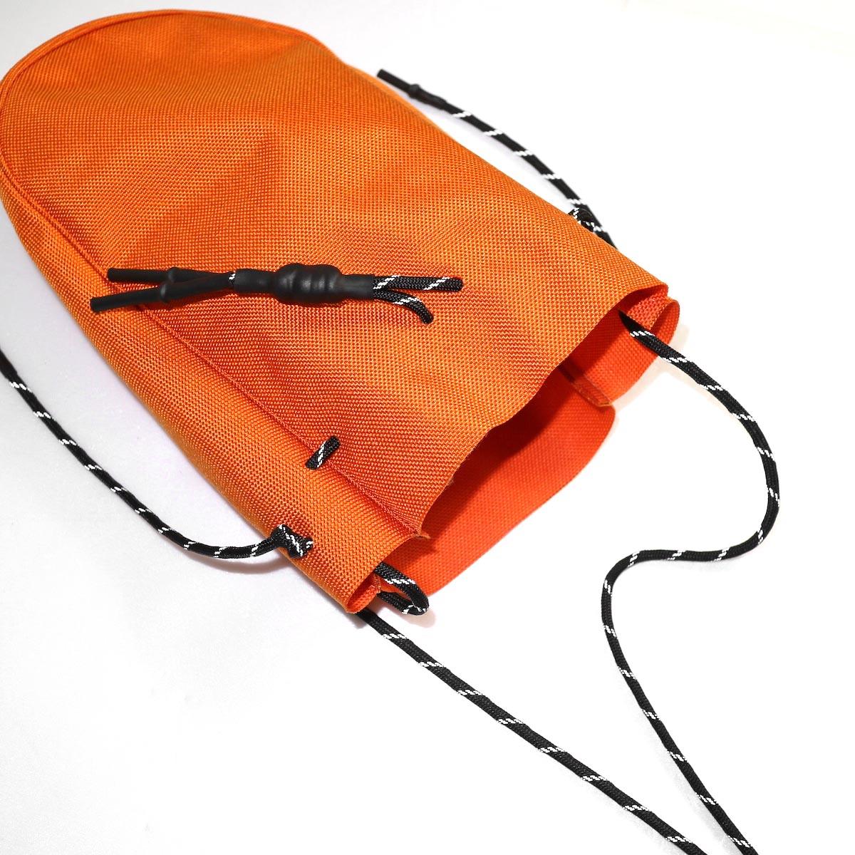 吉岡衣料店 / drawstring bag -S-. イメージ (orange)