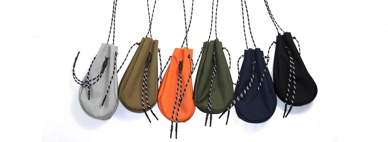 吉岡衣料店 / drawstring bag -S-. 前色イメージ