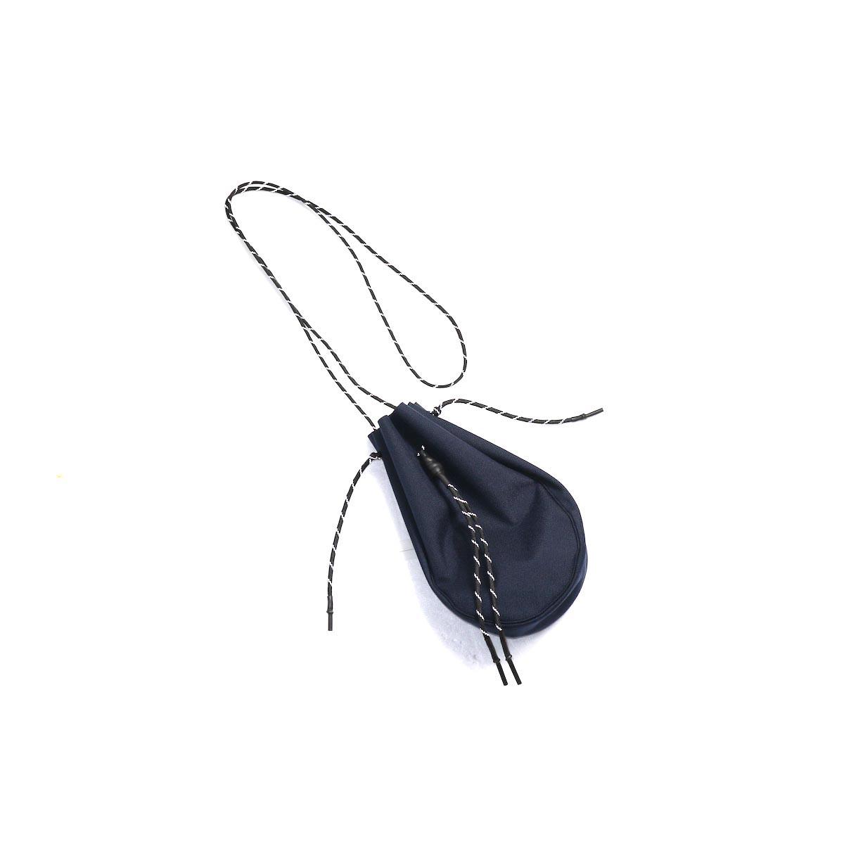 吉岡衣料店 / drawstring bag -S-. (Dark Navy)
