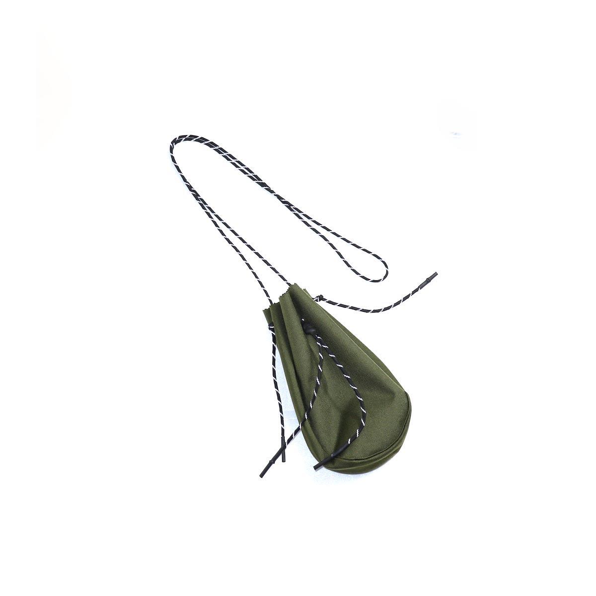 吉岡衣料店 / drawstring bag -S-. (OD)