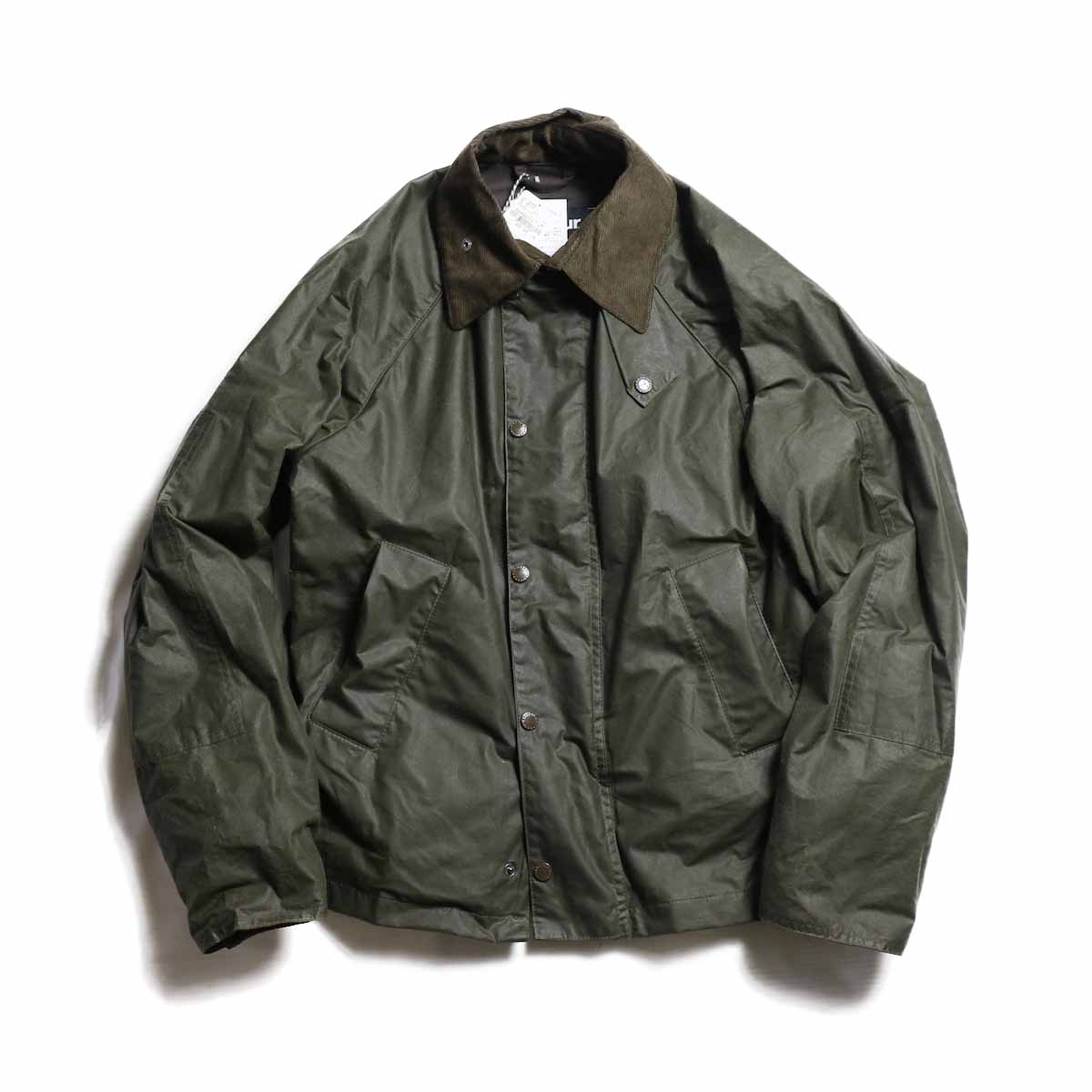 Engineered Garments × Barbour / Graham Wax -Dk.Olive